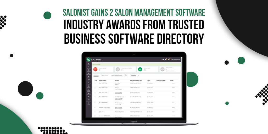 Salon-software
