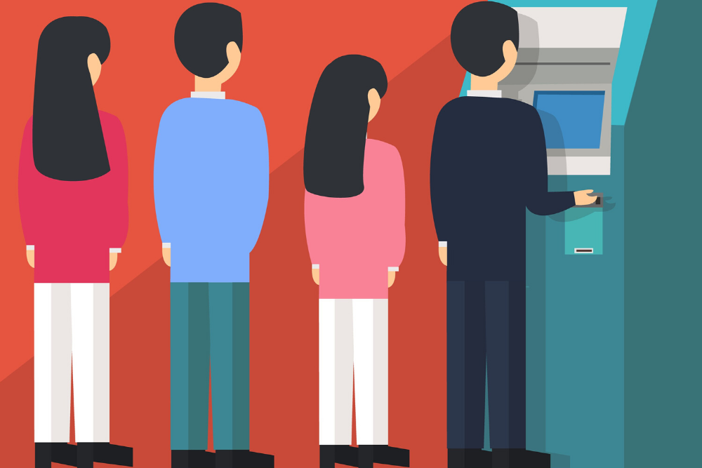 Reduce waiting for lines with virtual sign-in and queuing