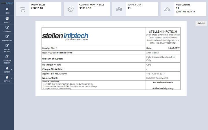 Shrivra Invoice Management System Software - Invoice management system