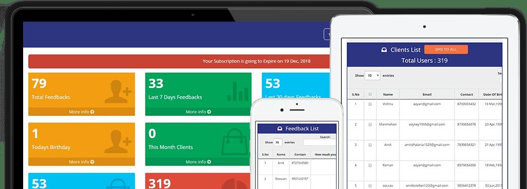 Shrivra Smart Reviews, Feedback and Survey App